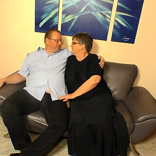 LETSDOEIT - Mature Granny Gets a Huge Cumload