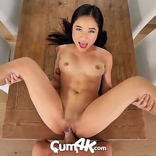 CUM4K Multiple Oozing Creampies With Dating App Hook Up