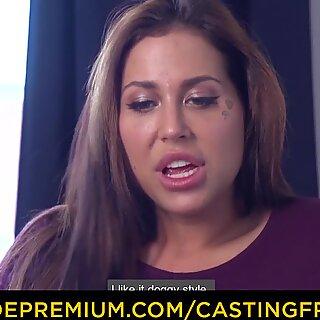 CASTING FRANCAIS - Curvy amateur first hardcore porn
