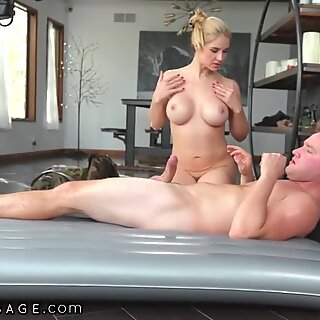 Sarah Vandella Gives A Pounding Gift To Her Military Stepson
