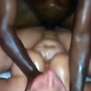 Black Guy Makes my Wife Squirt