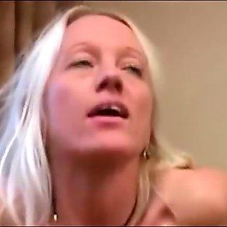 Blonde Wife Interracial cuckolding