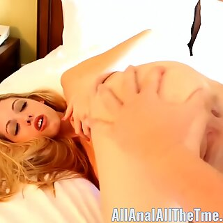 Petite Teen Brooke Logan Gets Ass Gaped and Spread for AllAnal!