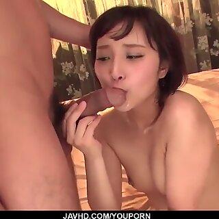 Uika Hoshikawa sucks good before fucking in wild XXX - More at javhd.net