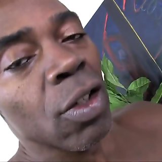 Cuckold's young wife go black