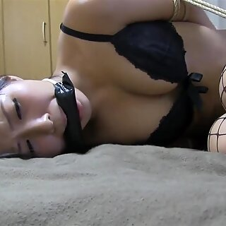 JP damsel Kidnapped and Bit ball-gagged Part 1