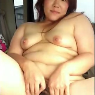 Chubby triple belly Japanese  wife Misaki Cuckold Hotel