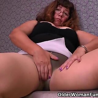 There is something about granny and her nylons