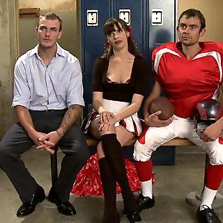 Brat Princess Cuckolds Her Boyrfriend With Football Coach
