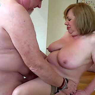AgedLovE Two Matures And Cock Hardcore