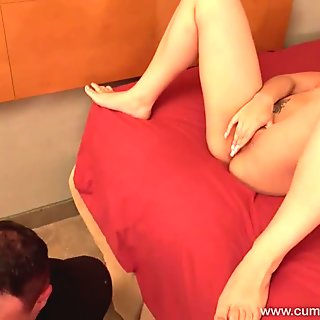 Cum Eating Cuckolds - Stephanie Saint fucks the maintenance man