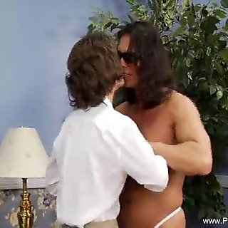 Fucking My MILF On The Bed