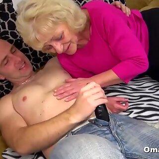 Tied Granny Loves It Hard